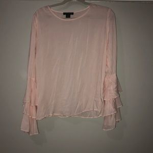 Pink Chelsea and Theodore Blouse